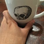 Coffee-Filled Skull