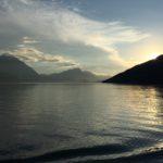 Dinner on Lake Thun