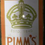 #189 – Pimm's